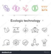 Ecologic Technology Line Icons Set Line Stock Vector (Royalty Free) 1557879503 – Aarrtt – #Aarrtt #Ecologic #Free #Icons #Line