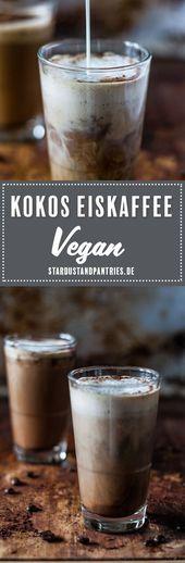 Café gelado de coco vegano que tem gosto de férias   – Blogger Summer Vibes