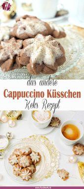 Cappuccino Küsse, Kekse Rezepte über Grenzen hinweg   – Beste Foodstories-Blogger-Rezepte/Gruppenboard DACH