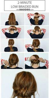 .Cool & Simple: Mit diesen 6 Hairstyles bewahren wir im Sommer einen kühlen Kop… – Haare