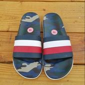 Tommy Hilfiger Army Camo Slides Slippers FlipFlops #fashion #clothing #shoes #ac…