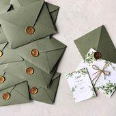 DIY-Hochzeitseinladungen sind nicht nur für kreative Paare gedacht – wir