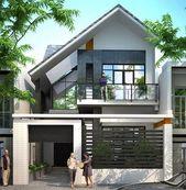 ✔41 most amazing modern house exterior design ideas 13 – Moderne Häuser