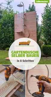 Gartendusche selber bauen