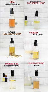 Top Erstaunliches Diy Haarspray Fur Schnelleres Haarwachstum