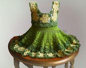 Crochet Pattern / Babby dress Unique Model