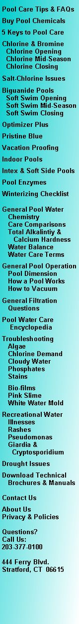 Swimming Pool Water Care, BioGuard, AquaFinesse, Pristine Blue, Natural Pool  Products,