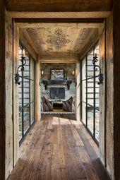 18 beautiful rustic hallway designs for your inspiration   – haus