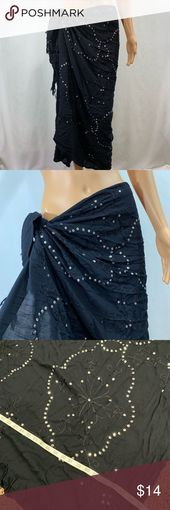 Swimsuit Cover / Sarong Sarong Cover Size 39 X 64 In excellent condition no flaw…