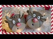 Cupcakes De Navidad – Deliciosos cupcakes básicos decorados con fondant casero …   – Capkes navideños