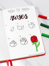 50+ Greatest Flower Drawing Tutorials To Embellish Your Pages