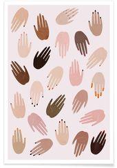 GRRRL von LEEMO als Poster ✓ Jetzt online kaufen bei JUNIQE ✓ Zuverlässiger… – Lady Womans