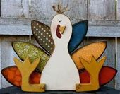 Thanksgiving Dekor Holz Türkei Herbst Dekor Herbst Dekor Holz Türkei Bauernhaus rustikale Gastgeberin Geschenk Thanksgiving Geschenk Dekoration Türkei
