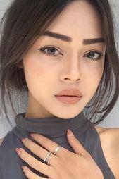 Keine langweiligen natürlichen Make-up-Ideen, die Ihr Freund lieben wird ★ We…