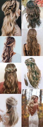 Les 20 meilleures coiffures de mariage pour 2018/2019 – Oh Best Day Ever – …   – Hair Styles 2019