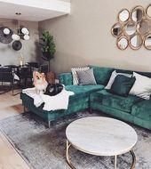 46 Idées de décoration de salon scandinave confortable – Page 23 de 46
