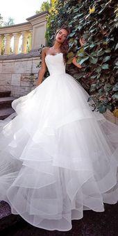 15 Top Brautkleider für Feier, Trendy einfache Ballkleid Schatz …   – Wedding Dresses