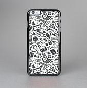 The Black & White Technology Icon Skin-Sert for the Apple iPhone 6 Skin-Sert Case
