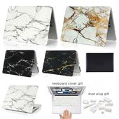 Protective Marble Stone Color Case for Macbook 3 pcs Set