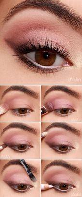 10 Wundervolle Ideen, um Rosa in die Augen zu male…