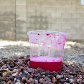 This color-changing baking soda volcano for kids couldn't be easier! Do this fun... 2