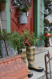 Nest Feathering: Christmas Around the Potting Shed
