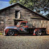 Rattenstange Roadster Pickup #Ratrodtrucks   – Rat rod trucks