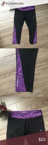 Nike Trainingshose für Frauen lila und schwarze Hosen Nike Trainingshose für Frauen. …  – My Posh Closet