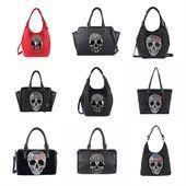 Dames, schedel, schedel, tas, schouder, rugzak, schoudertas, handtas …  – Nieuw …   – Fashion Home