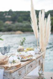 Le chic de la French Riviera avec cette inspiration mariage entre terre et mer