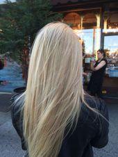 Nuances de blond : Pearl blonde…