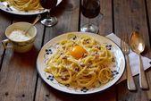 Pâtes carbonara (spaghetti carbonara sans crème) – #all #carbonara # crème …   – kitchen