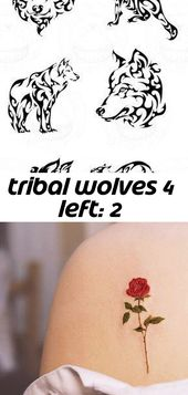 Tribal wolves 4 left: 2