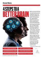 Aarp Bulletin December 2017 4 Steps To A Better Brain Best Brains Aarp Best