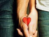 Tattoo-Ideen-für-Pärchen-Herz-zusammenpassende-Hälften – #TattooIdeenfürPär… – Parchen Fotos