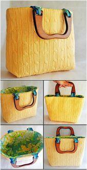 50 erstaunlich kreative Upcycling-Projekte für alte Pullover