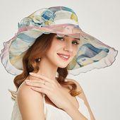 Organza Church Kentucky Derby Hat – Wedding hats