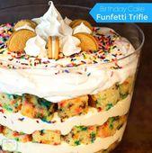 Birthday Cake Funfetti Trifle – melissassoutherns…