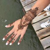 1001 idées pour un tatouage au henné très impressionnant   – Art