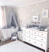 Fantasyroom on Instagram: So ein schönes Babyzimmer bei  @jenna_franke  Der Tip… – Babyzimmer