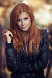 89 Trendige und schöne Ideen für kupferfarbene Haarfarben // #Beautiful #Color #Copper #H …  – Frisuren Bilder