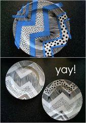 Großartig Lernen Sie Keramikplatten mit Markern zu dekorieren