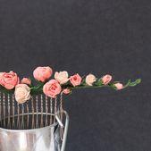 Organdy | floral hair comb/ wedding flower crown/ blush wedding hair pin/ bridal hair comb/ wedding hair combs/ bridesmaid hair accessories