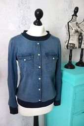 Manuel de couture Upcycling: de la chemise en jean au sweat-shirt   – Do it Your self