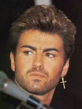 big statement earrings 80/'s jewellery George Michael earrings Statement accessories