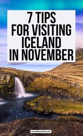 7 Issues To Know Earlier than Visiting Iceland In November