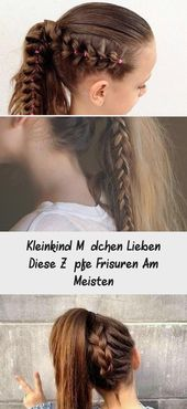 Toddler Girls Love These Braids Hairstyles Most – DE
