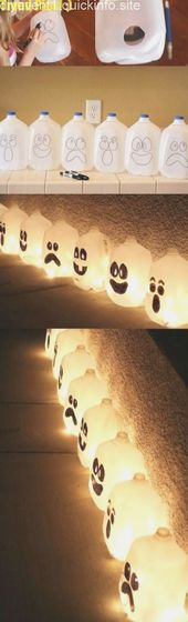 Diy Decorao billige Halloween-Party 15+ Ideen – #halloweendecorao   – DIY Halloween Party