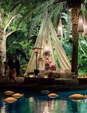 20 ideas para decorar tu boda al aire libre – La zona de descanso