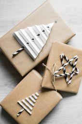 PACKAGING CHRISTMAS GIFTS – 5 SIMPLE DIY IDEAS  – Geschenke Verpacken